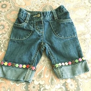Baby Girl Gymboree Jeans 3-6 Months
